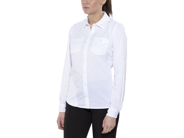 Marmot Annika Langærmet T-shirt Damer, white